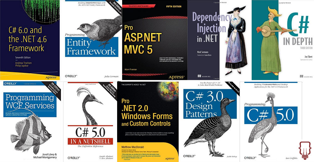 Best Microsoft .NET and related books list