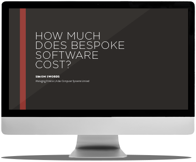 how much does bespoke software cost?